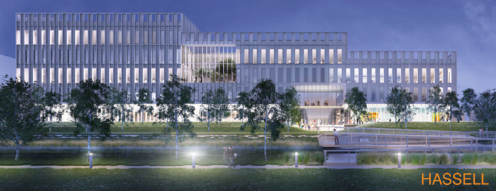 Usher Institute new building design 2019