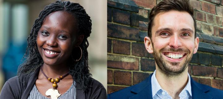 Vanessa Ombura and Josh MacAlister