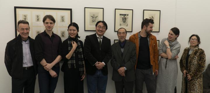 Artists and organisers of Venus Bound