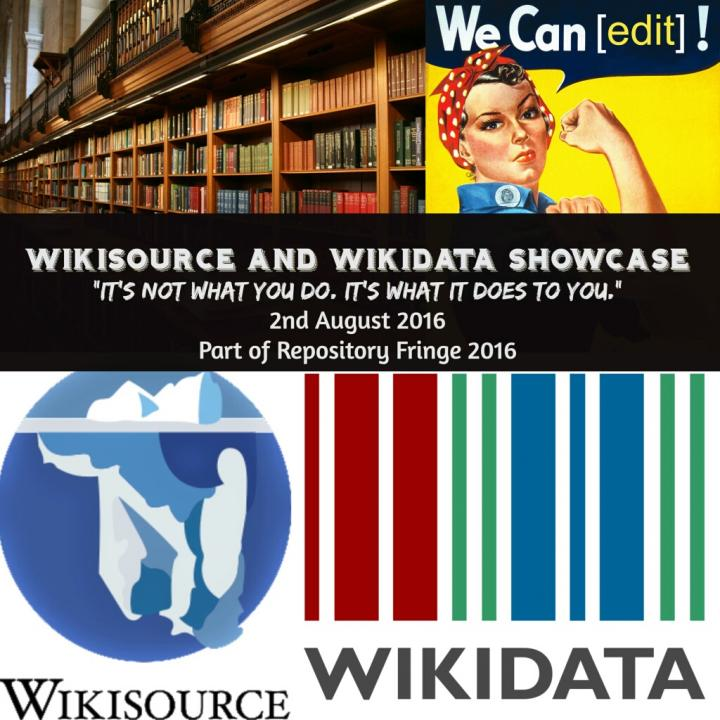Wikisource and Wikidata Showcase