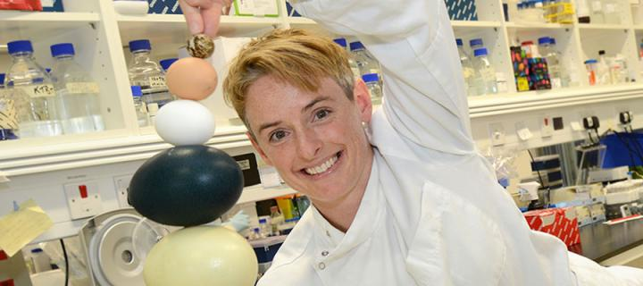 Photo of Dr Megan Davey of the Roslin Institute
