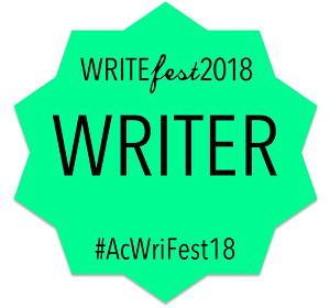 Write Fest sticker