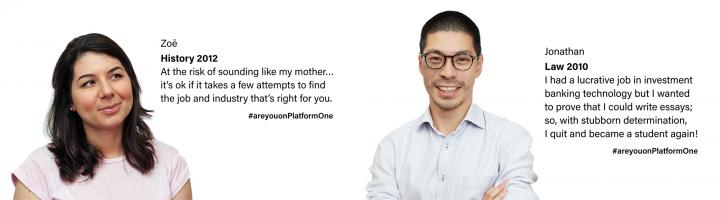 Platform One image and quote