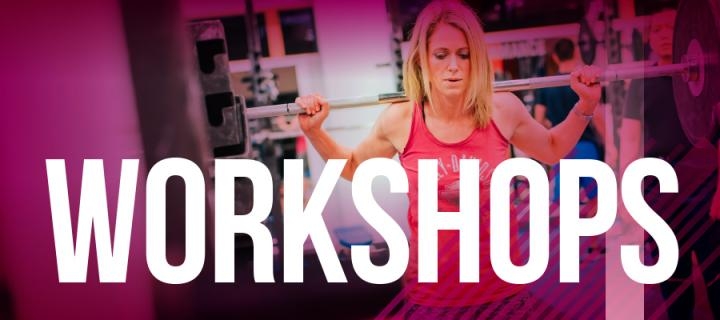 workshops at Sport & Exercise