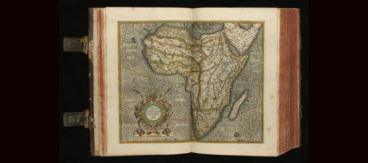 Image of Africa in the Mercator Atlas