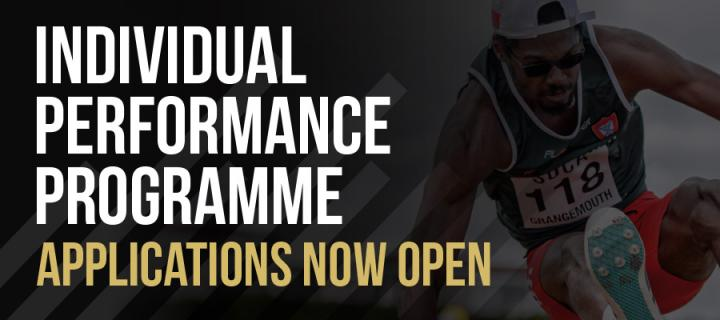 Individual Performance Programme Applications Now Open