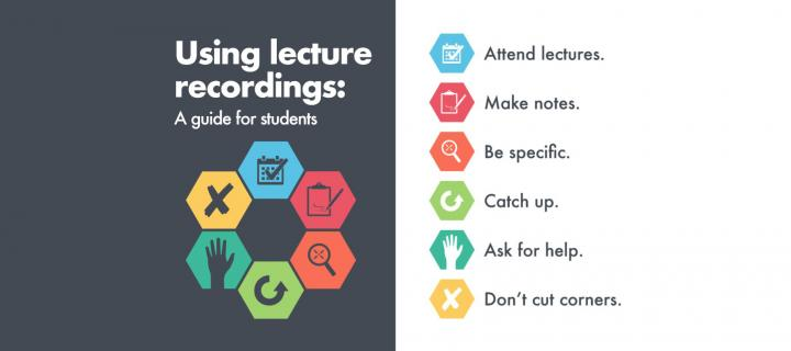Lecture recording student guidance
