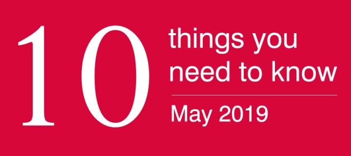 10 things may 19