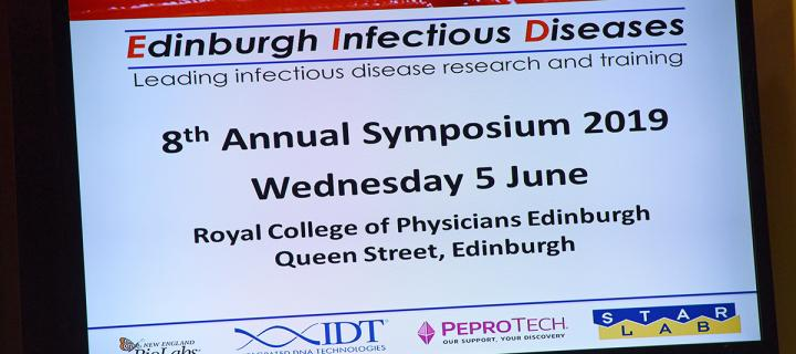 A great showcase of infectious disease research in Edinburgh