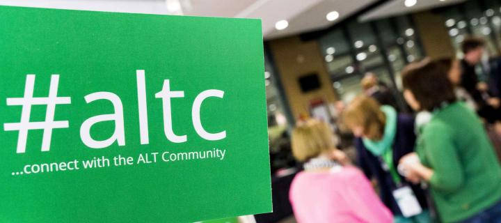 #altc ...connect with the ALT Community