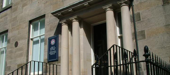 56 George Square, front door