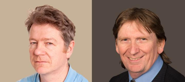 New Professors - Bruce Guthrie and Stewart Mercer