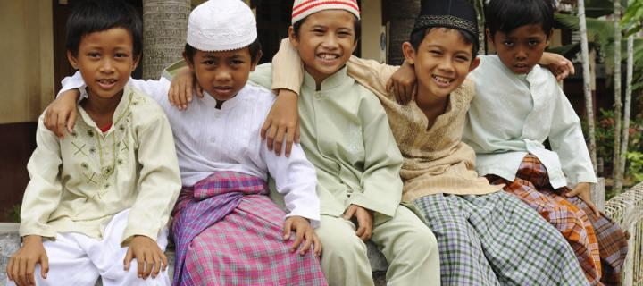 Muslim children