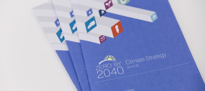Zero by 2040 Climate Strategy printed version