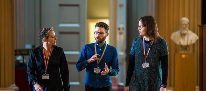 Playfair Library Discussion Group of Three LGBT+