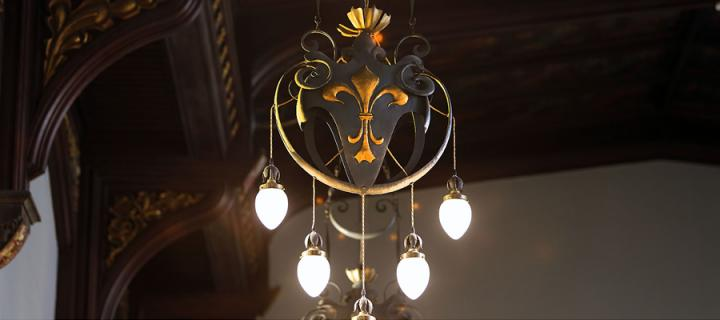 New College chandelier