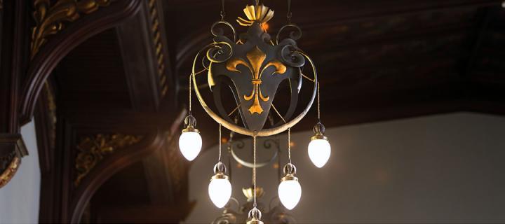 New College chandelier