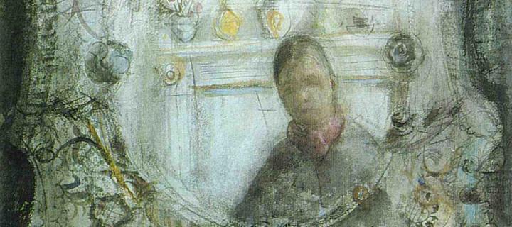 Anne Redpath, In A Mirror