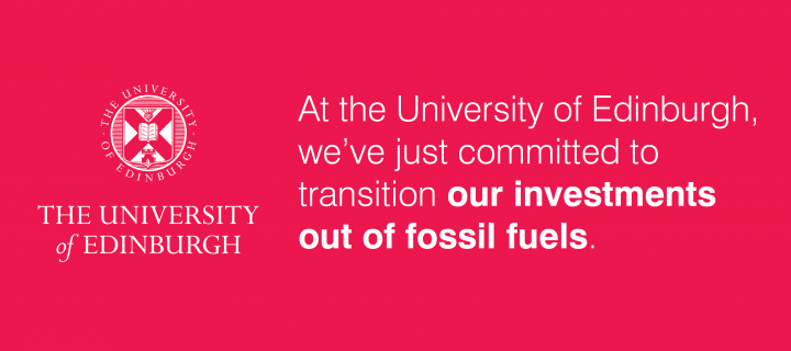 We've committed to transition our investments out of fossil fuels