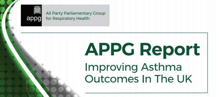 APPG Report title - Improving Asthma Outcomes in the UK