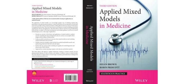 Cover of textbook Applied Mixed Models in Medicine