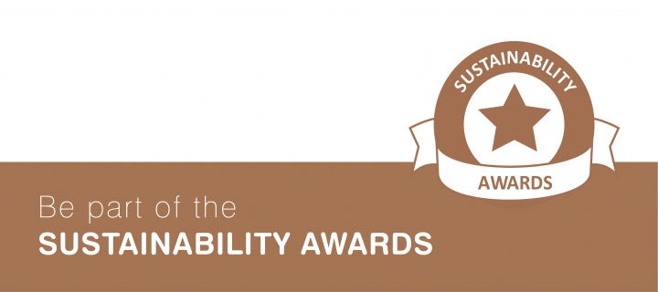 Be part of the sustainability awards tip