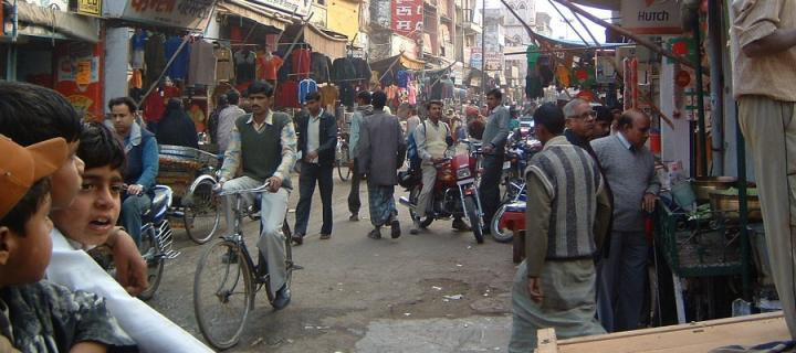 An Indian street scene