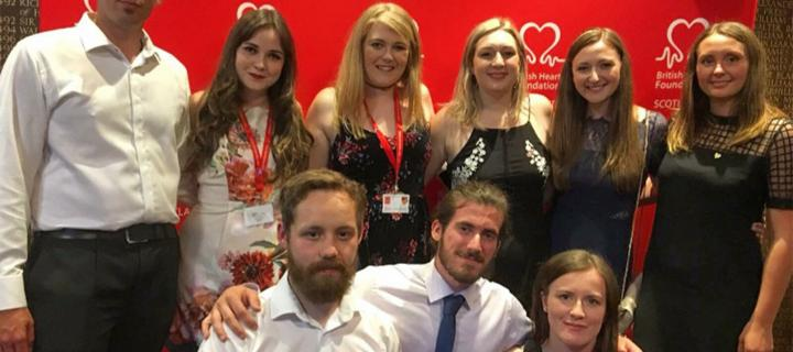Members of the CVS BHF Fundraising Group