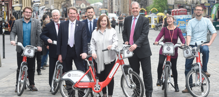 Bike hire scheme wheels onto campus