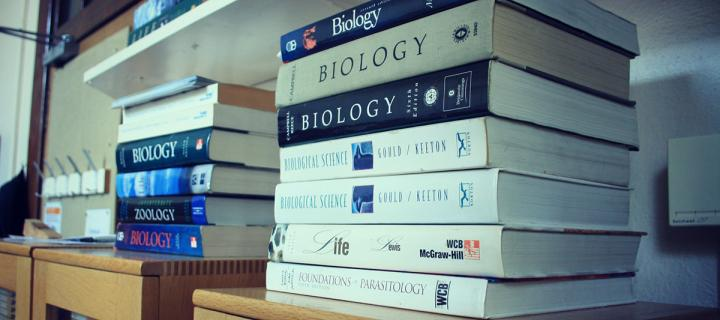Biology text books