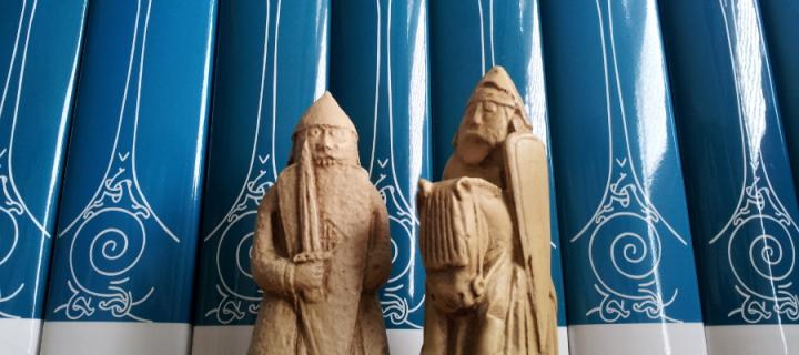 Books and Lewis Chessmen