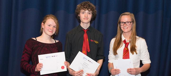 IGMM News 2014 - broughton high school pupils
