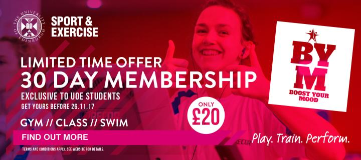 Boost Your Mood with our 30 Day Membership