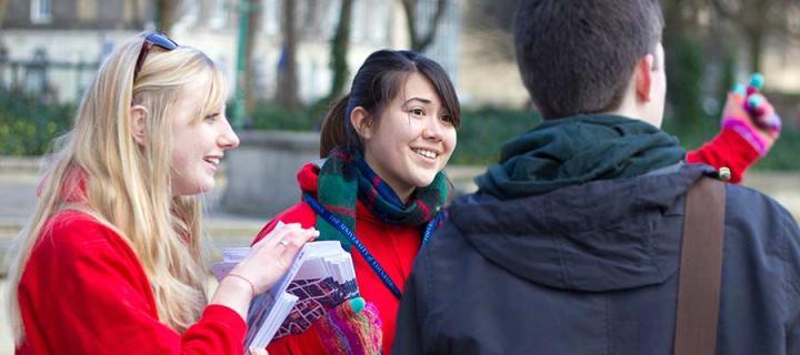 Student-led tours