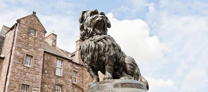 Greyfriars Bobby statue. Credit: Marketing Edinburgh