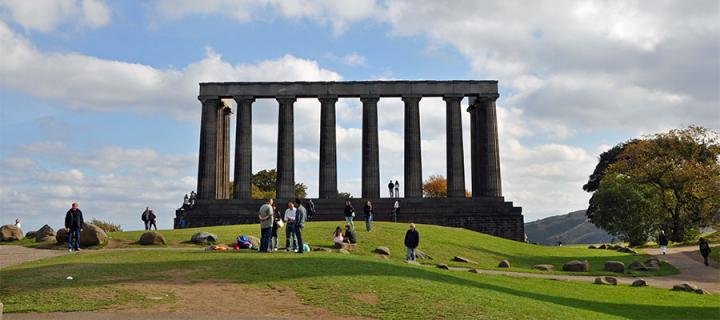 Calton Hill. Credit: Marketing Edinburgh