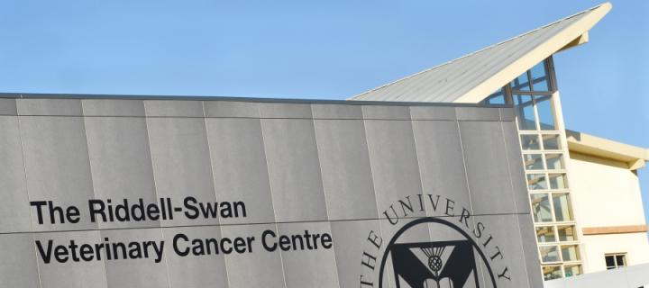 The front of the oncology centre.