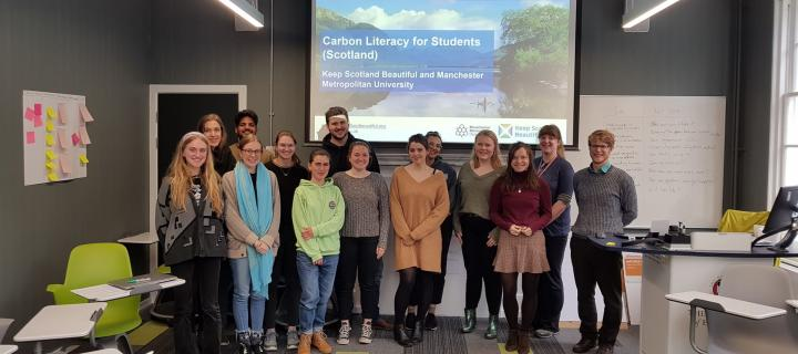 Carbon literacy training 2019 - Student Pathways