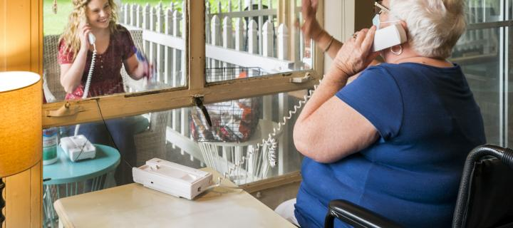 Care home study maps lockdown impact on families