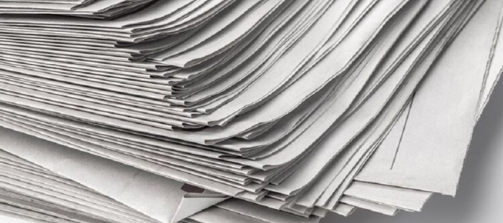 Image of a pile of papers