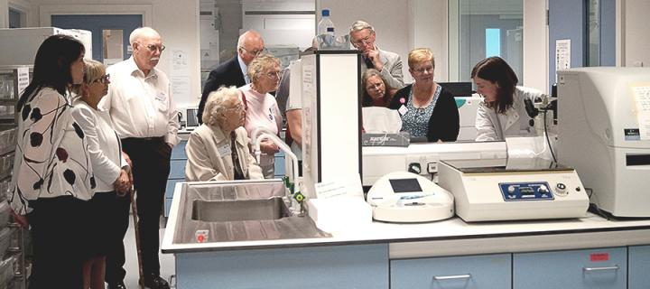 CRUK EC lab tours