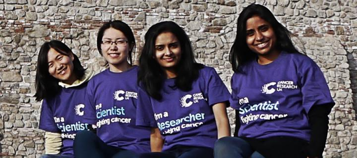 Cancer Research UK Edinburgh Centre study with us