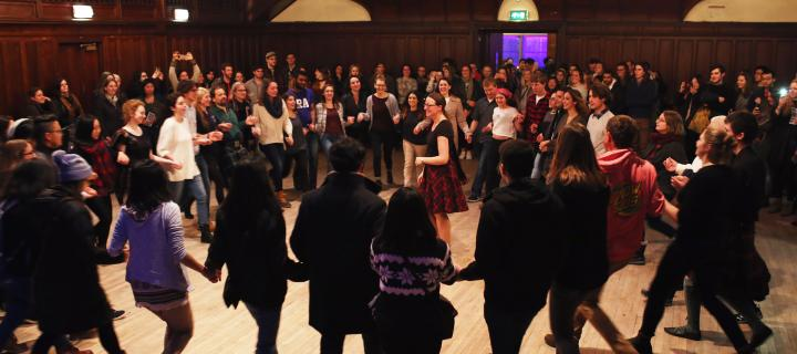 New Scotland Country Dance Society in the Debating Hall at Teviot
