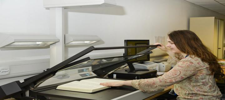 Scanning at the University Collections Facility