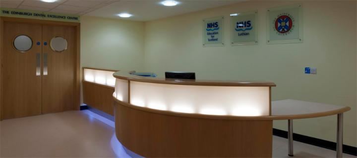 Edindurgh Dental Institute Reception