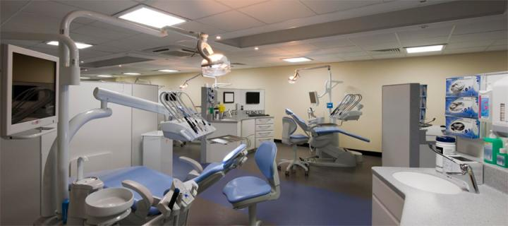 Edindurgh Dental Institute treatment room