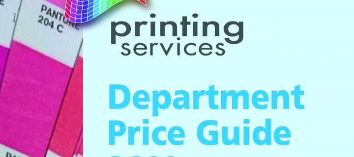 Department Price Guide 2020 image