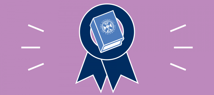 Dissertation prize rosette graphic