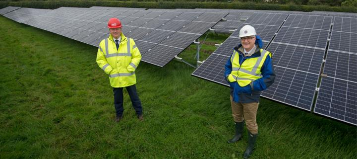 Solar farm boosts University's zero carbon bid