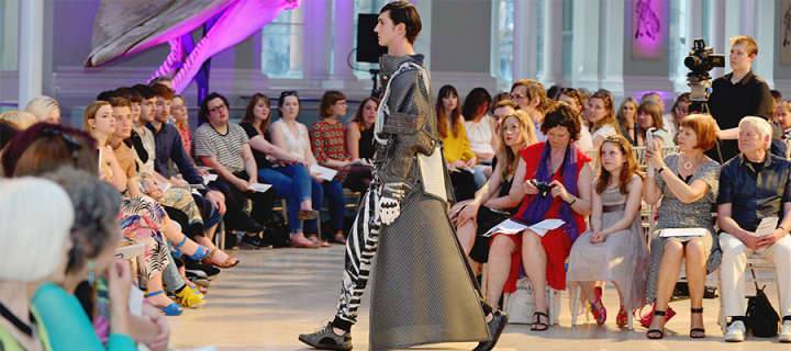 Stunning designs catch eye at fashion show